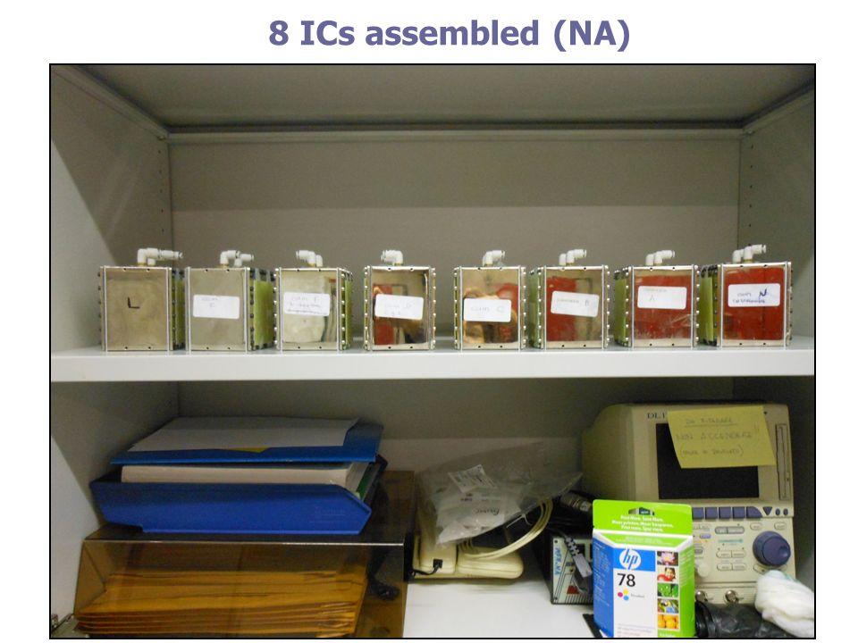 8 ICs assembled (NA)