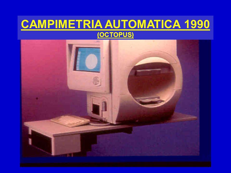CAMPIMETRIA AUTOMATICA 1990 (OCTOPUS)
