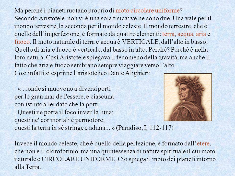 Aristotele Aristotele da Stagira (384-322 a.C.) per primo propose un modello di universo che prescindeva da raffigurazioni mitologiche con dei antropo