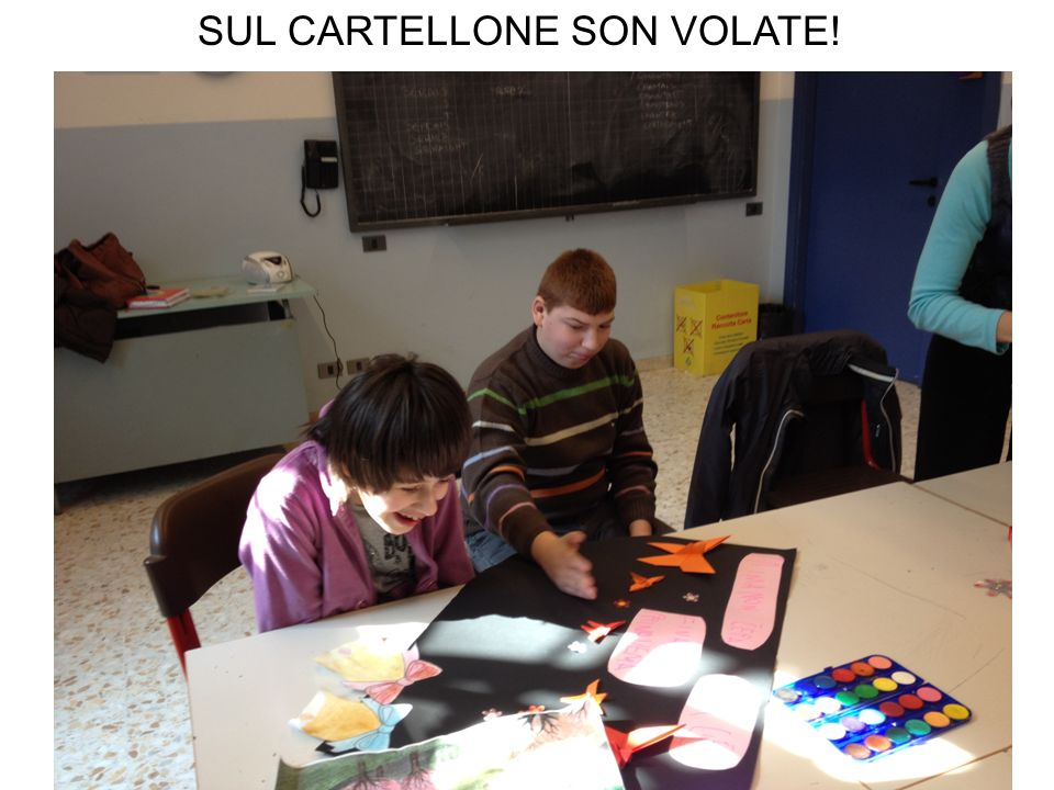 SUL CARTELLONE SON VOLATE!