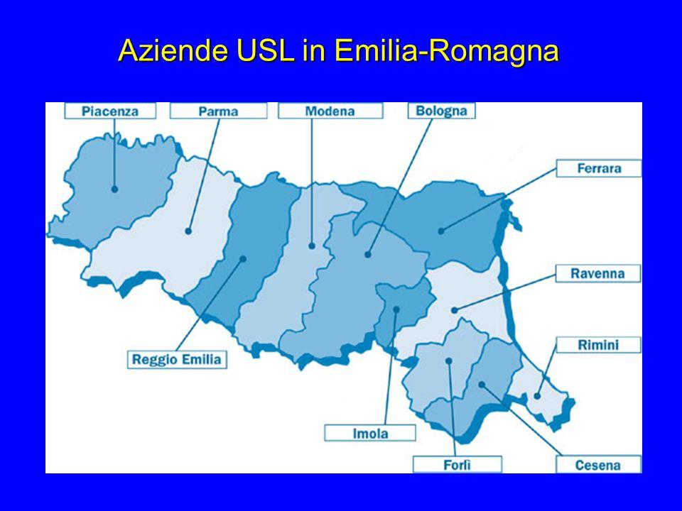 Aziende USL in Emilia-Romagna