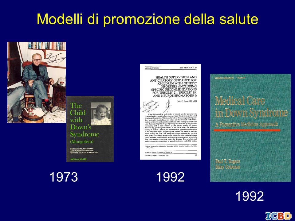 Modelli di promozione della salute 1973 1992