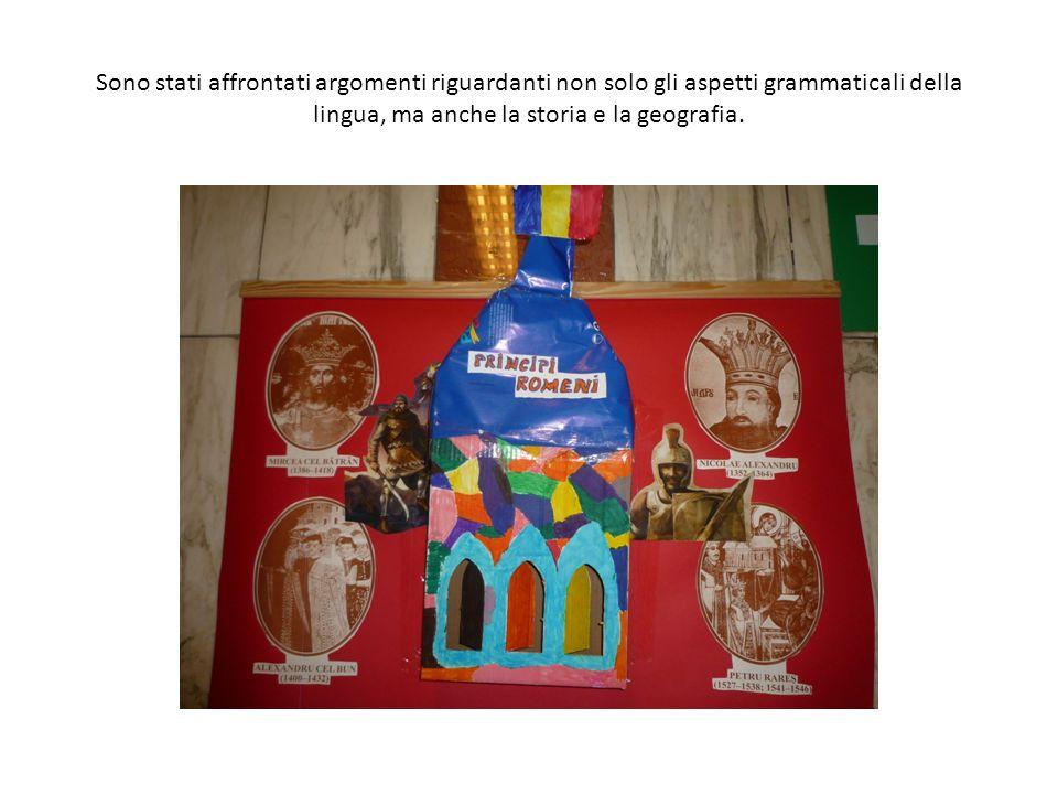 Gli alunni della scuola Primaria hanno frequentato con interesse e profitto il Corso di Romeno.