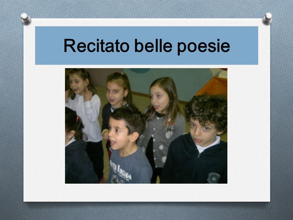 Recitato belle poesie