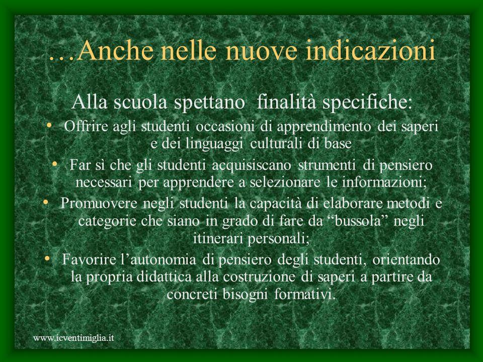Invertendo lordine dei fattori il prodotto non cambia. www.icventimiglia.it