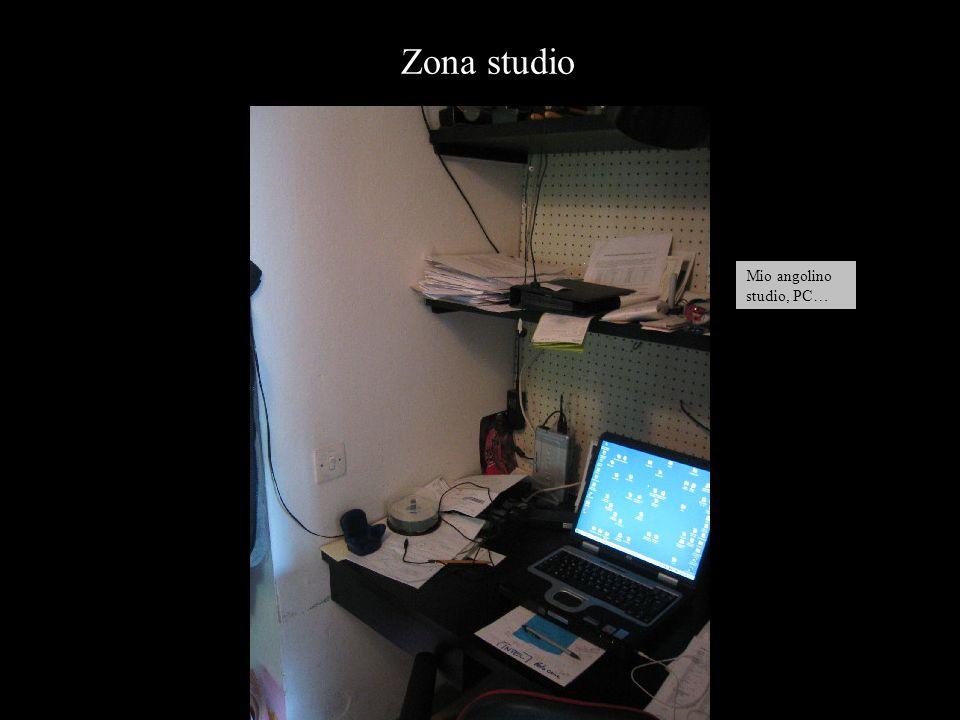 Mio angolino studio, PC… Zona studio