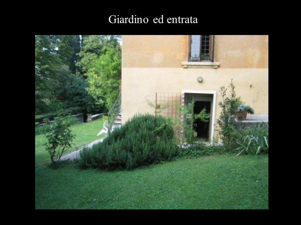 Giardino ed entrata