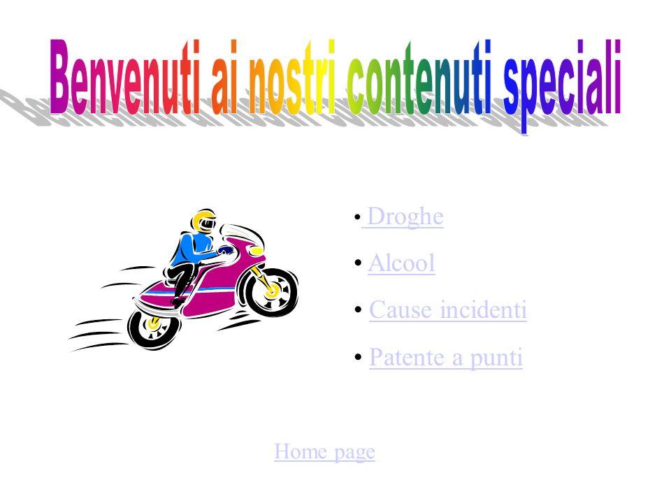 Home page Droghe Droghe Alcool Cause incidenti Patente a punti