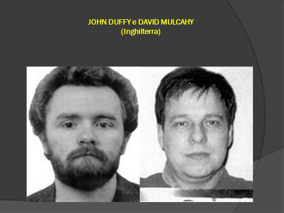JOHN DUFFY e DAVID MULCAHY (Inghilterra)
