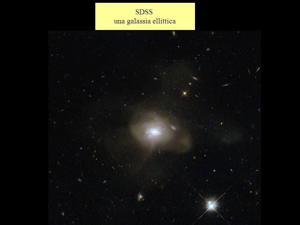 SDSS una galassia ellittica