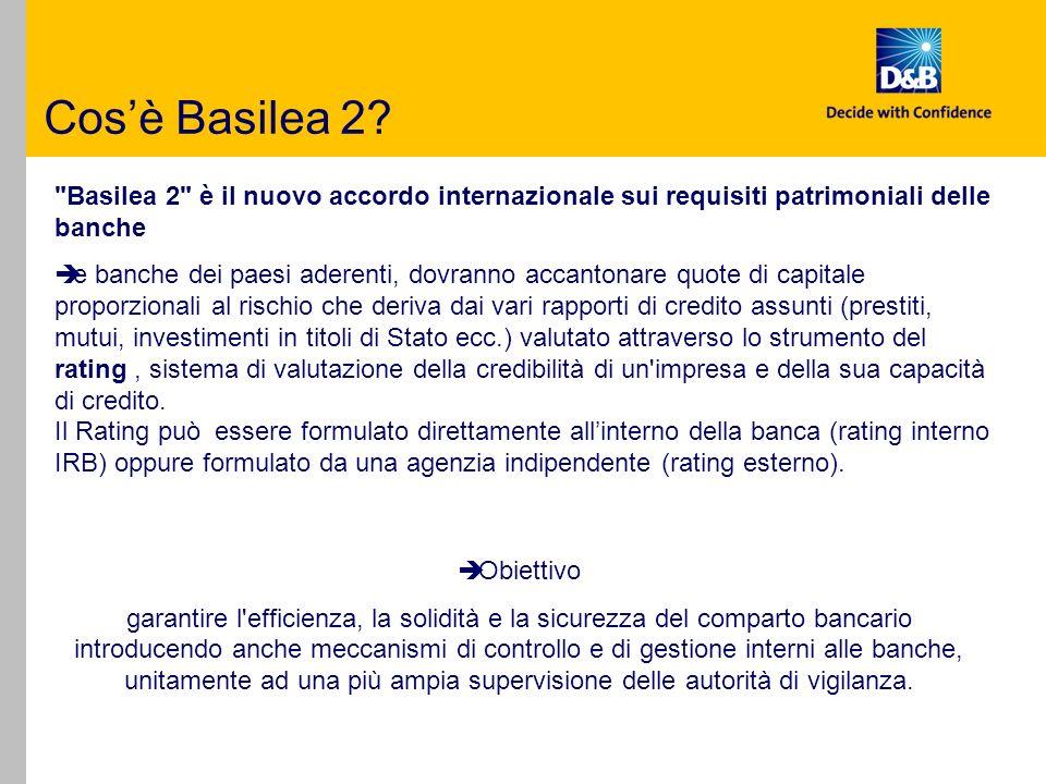 2001: nasce il nuovo accordo di Basilea: BASILEA 2 Il contenuto del Nuovo Accordo si articola su tre concetti basilari, definiti i 3 PILASTRI DI Basilea 2: 1.requisiti patrimoniali minimi.