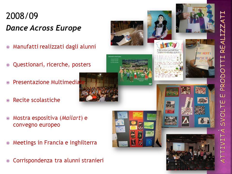 Con le Mail- art gli alunni delle classi III-IV-V delle scuole primarie di Colmurano, Loro Piceno e Urbisaglia esprimono la loro valutazione sul progetto Comenius