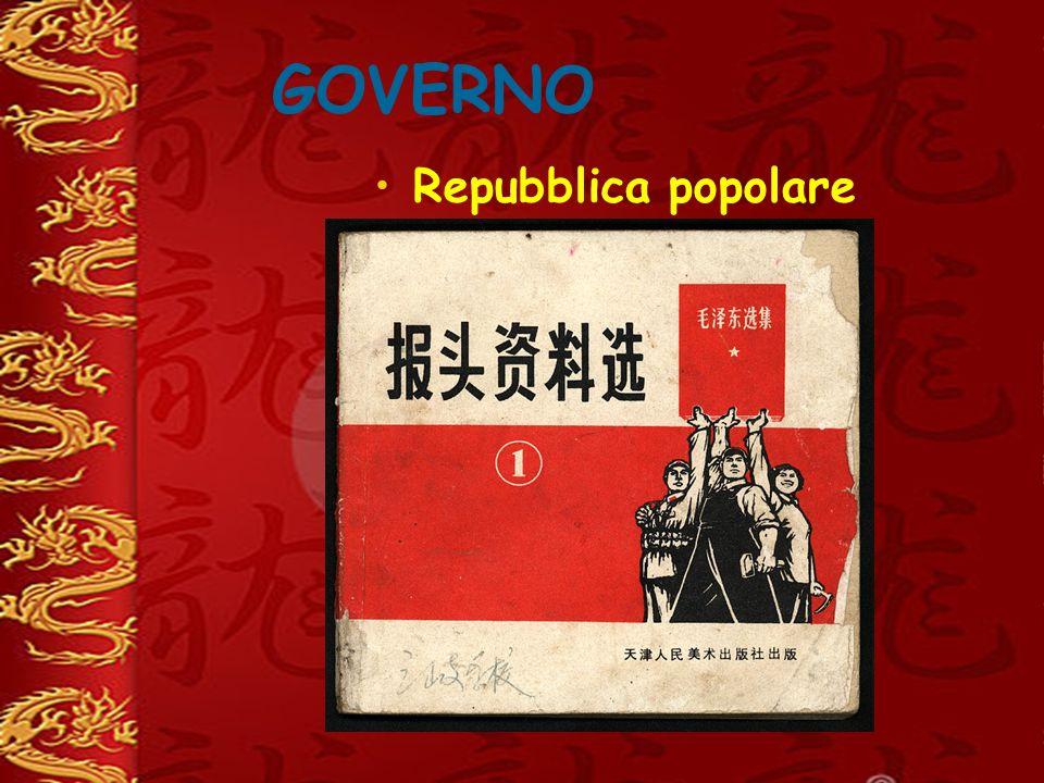 GOVERNO Repubblica popolare