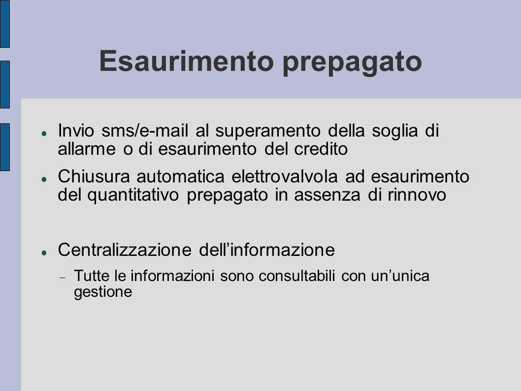 Problematiche affrontate La successiva normale acquisizione di una lettura di effettivo consumo determina: Emissione fattura a conguaglio, a valore 0