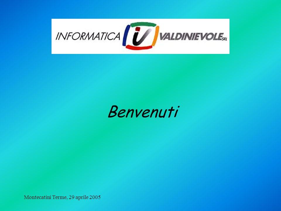 Montecatini Terme, 29 aprile 2005 Fin dallinizio la sua missione è stata la realizzazione di soluzioni software gestionali per la piccola e media impresa E del 1975 la prima soluzione gestionale per il settore del GPL mentre è del 1989 la prima installazione (ancora attiva) dellattuale SIV_4gl.