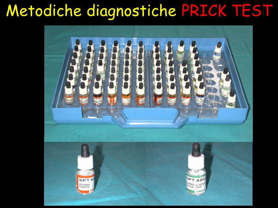 Metodiche diagnostiche PRICK TEST