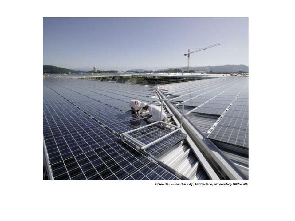 Sistemi ad inseguimento solare: ad uno o due assi.