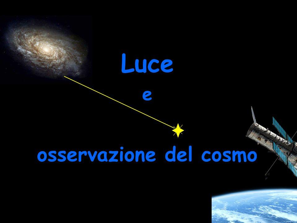Luce e osservazione del cosmo