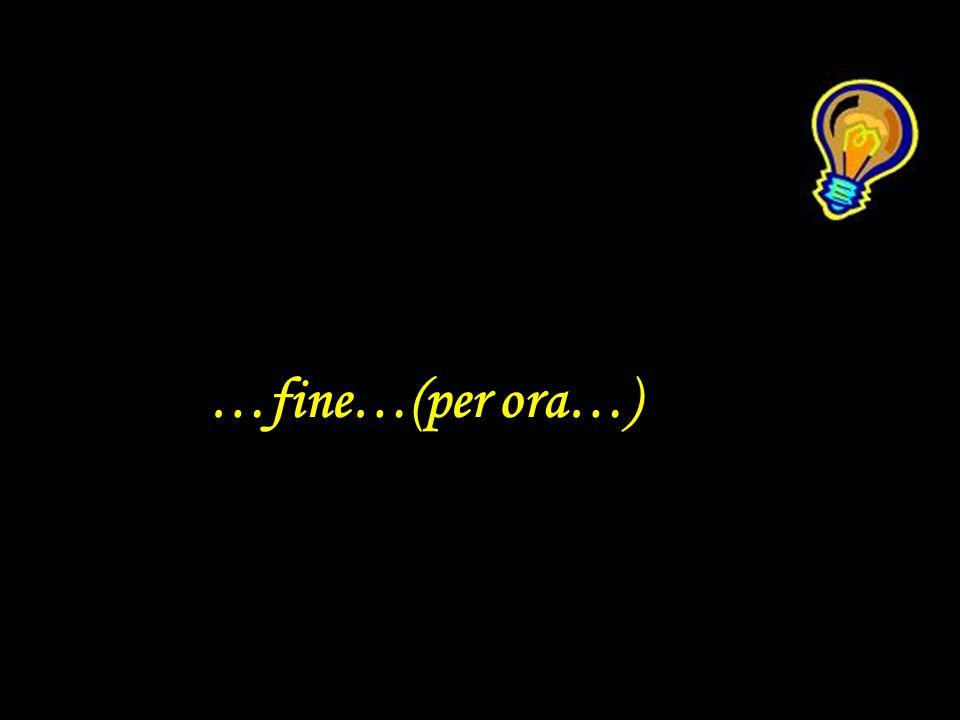 …fine…(per ora…)