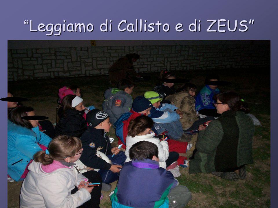 L eggiamo di Callisto e di ZEUS