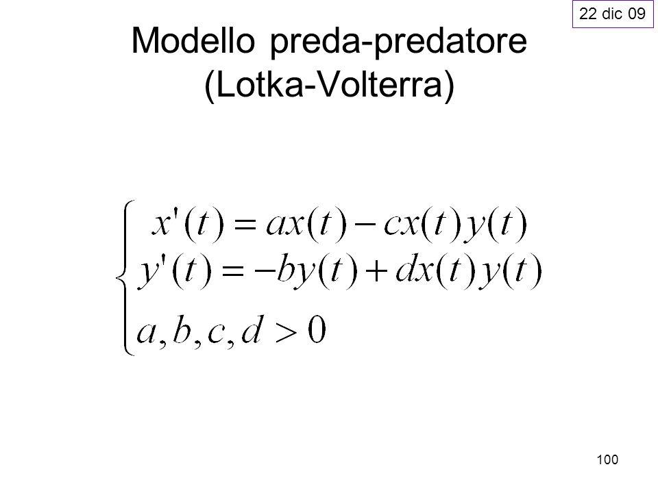 100 Modello preda-predatore (Lotka-Volterra) 22 dic 09