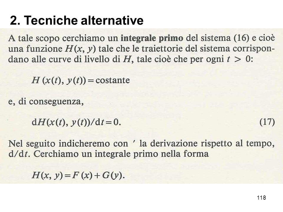 118 2. Tecniche alternative