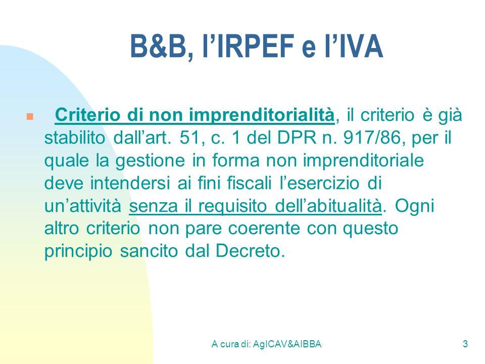 A cura di: AgICAV&AIBBA14 I Controlli della G.d.F.