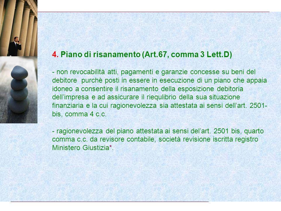 3. Vendite a giusto prezzo di immobili ad uso abitativo (Art.67, comma 3 Lett.C) - non revocabilità delle vendite a giusto prezzo dimmobili ad uso abi