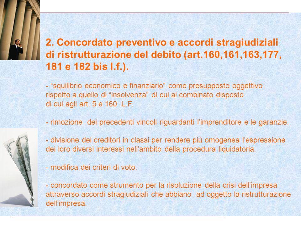 1. Azione Revocatoria - rimodulazione delle revocatorie (art.