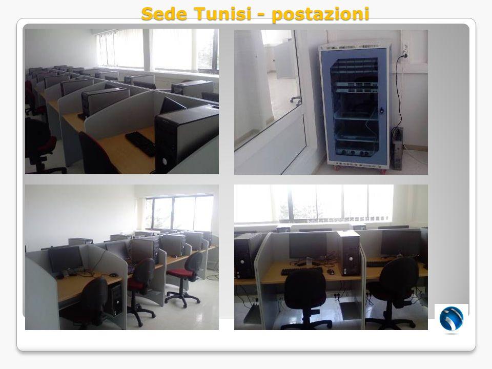 Sede Tunisi - postazioni