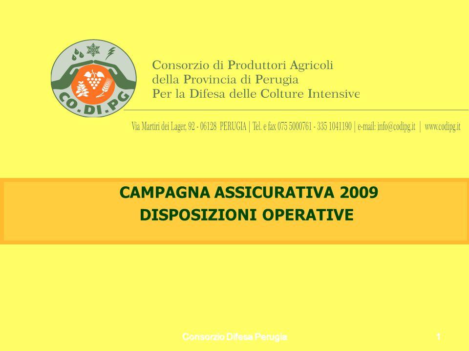 Consorzio Difesa Perugia12 PUNTO 2: COMPILAZIONE DEI CERTIFICATI - TASSO COMPAGNIA AGEV.