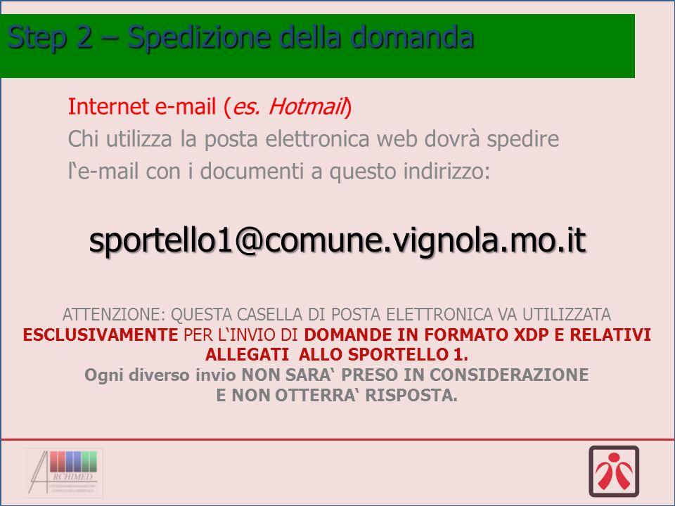 Internet e-mail (es.