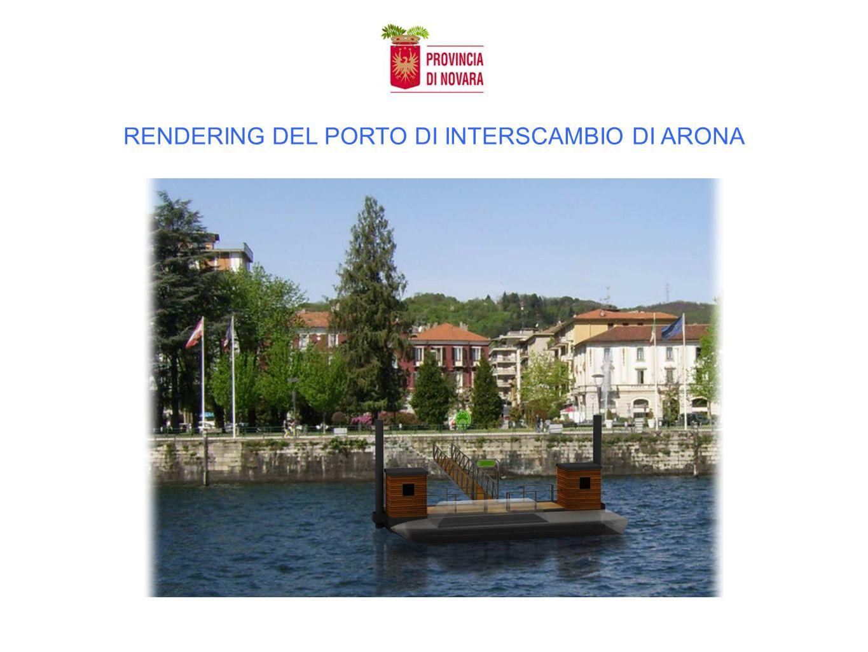 RENDERING DEL PORTO DI INTERSCAMBIO DI ARONA