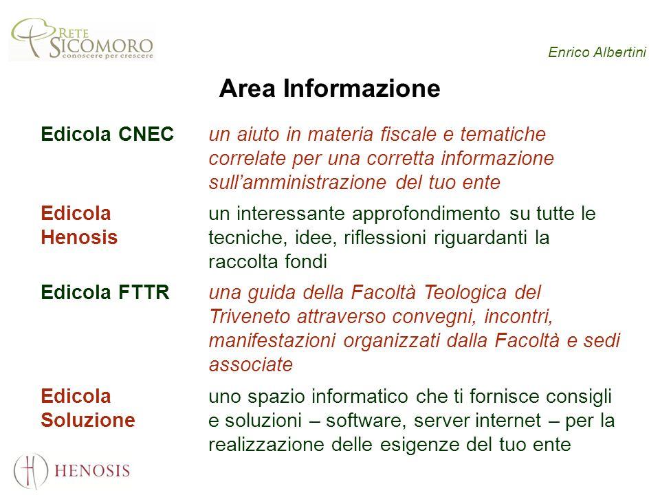 Enrico Albertini Area Informazione Edicola CNECun aiuto in materia fiscale e tematiche correlate per una corretta informazione sullamministrazione del