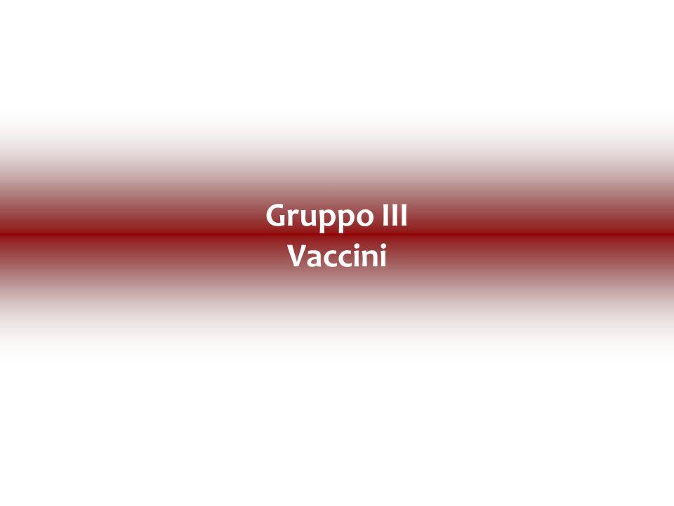 Gruppo III Vaccini