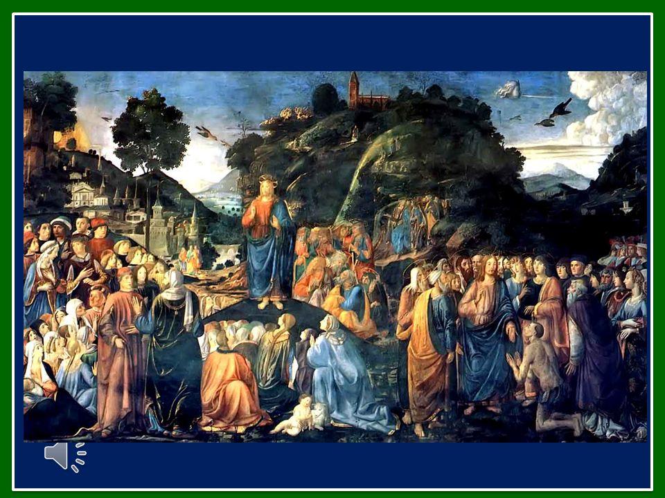 Invochiamo la Vergine Maria, la Beata per eccellenza, chiedendo la forza di cercare il Signore e di seguirlo sempre, con gioia, sulla via delle Beatitudini.
