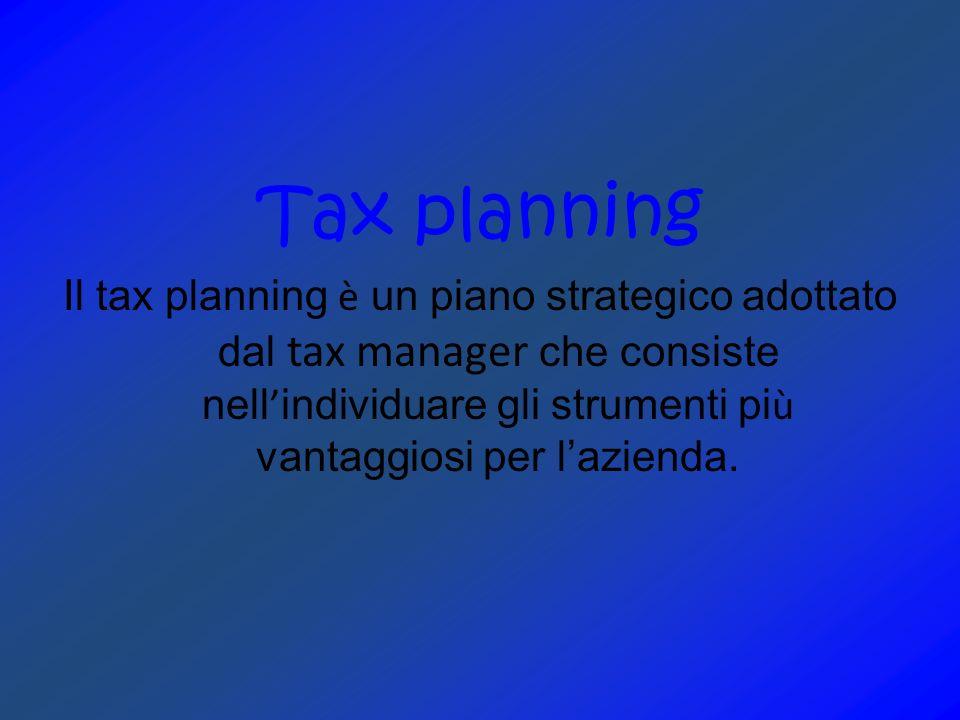ELUSIONE Il soggetto pone in essere operazioni che riducono le imposte approfittando delle lacune e delle imprecisioni della legge.