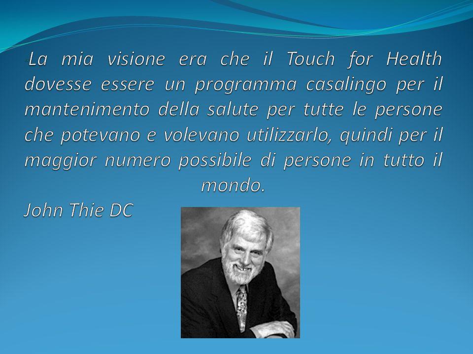 I corsi di T.F.H 1-4 sono il pilastro del Touch For Health e sono stati la formazione di migliaia di kinesiologi nel mondo che hanno utilizzato le tecniche in essi contenute per riequilibrare milioni di persone.