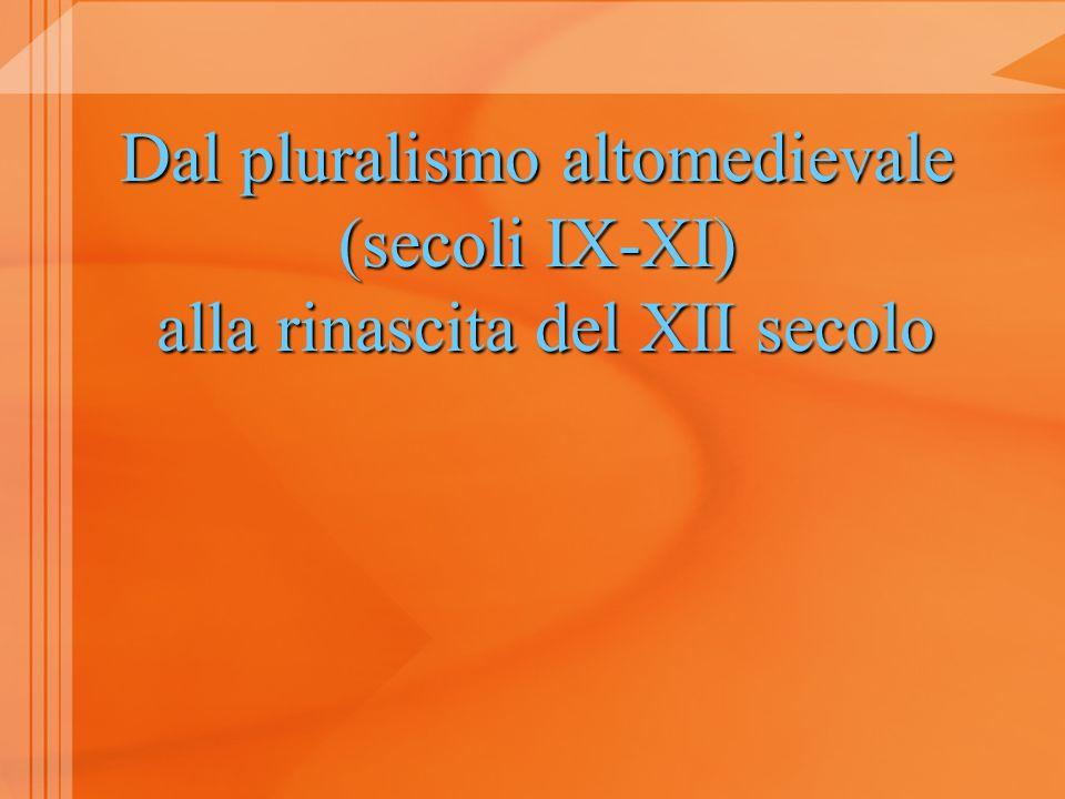 Fin dal 1119 limperatore Enrico V contrappone Ius civile est omnibus commune Ius consuetudinarium non autem legitimum