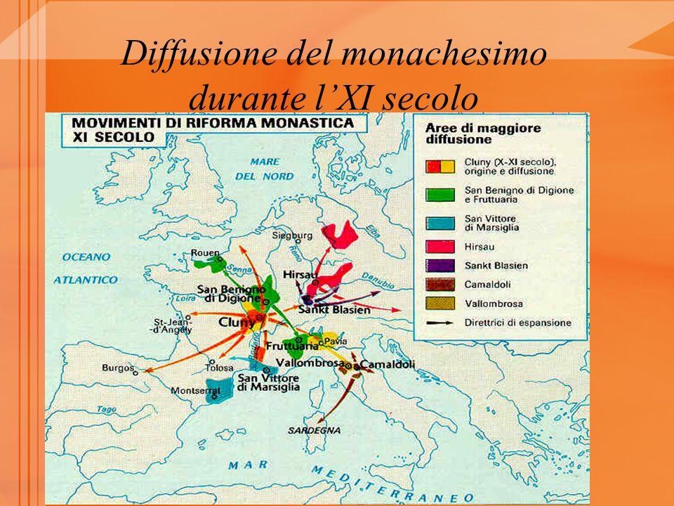 Diffusione del monachesimo durante lXI secolo