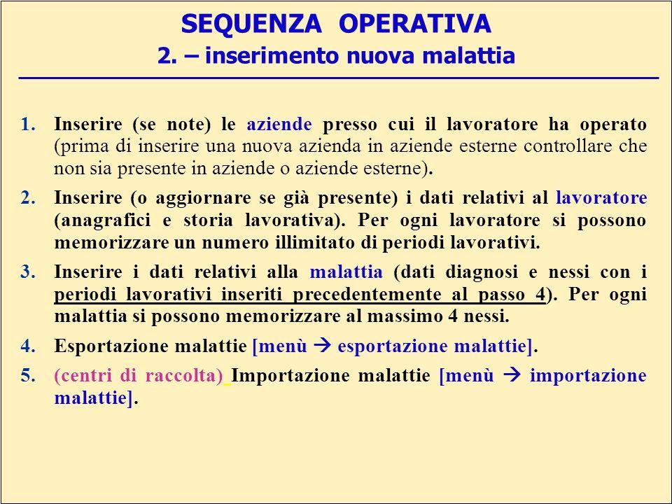 SEQUENZA OPERATIVA 2.