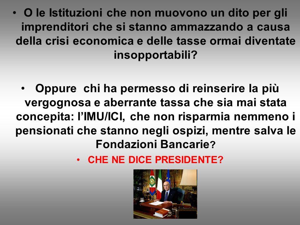 E inoltre, caro Presidente, chi è davvero ITALIANO INDEGNO nella disperazione del momento: Il negoziante che magari non fa uno scontrino per non pagar