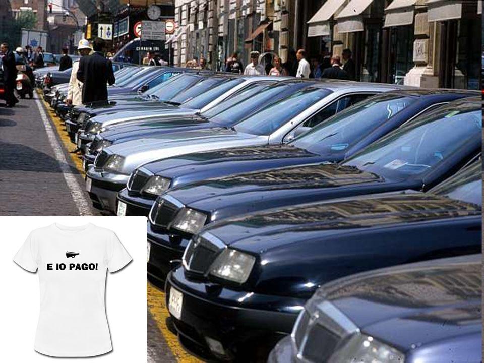 VI ABBIAMO CHIESTO DI RIDURRE IL NUMERO DELLE AUTO BLU SIAMO STATI ASCOLTATI? NOOOOOOOOOOOOOOOOOOOOOOOOOOOOOO In Italia ce ne sono 630.000 negli Usa s