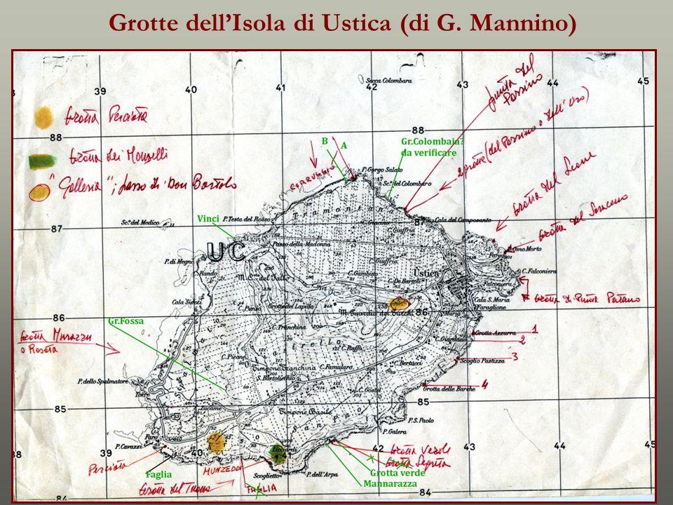 Grotte dellIsola di Ustica (di G. Mannino)