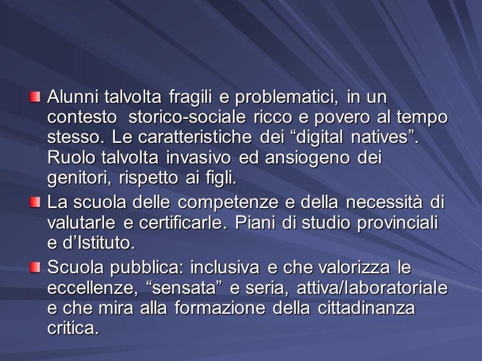 RUOLO DEI DOCENTI E DEGLI EDUCATORI NellIc, a.s.2013-14, c.