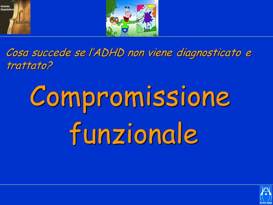 Compromissionefunzionale Cosa succede se lADHD non viene diagnosticato e trattato?