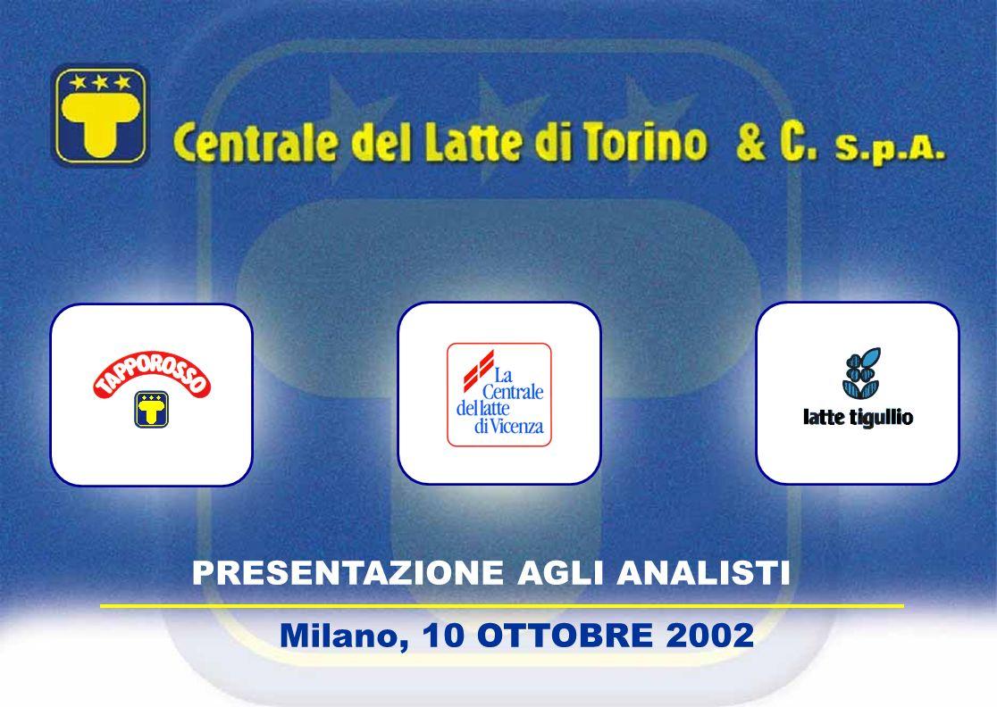 PRESENTAZIONE AGLI ANALISTI Milano, 10 OTTOBRE 2002