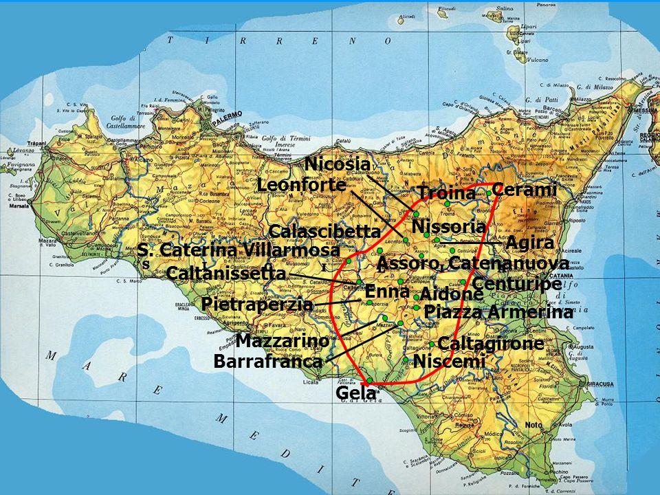 CALTAGIRONECALTAGIRONE La sua origine antichissima è testimoniata da reperti e documenti numismatici ed artistici che la rivelano come una delle numerose città sicane o sicule o greco-sicule.