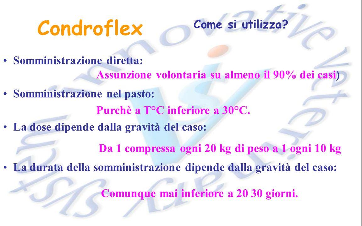Condroflex Come si utilizza.