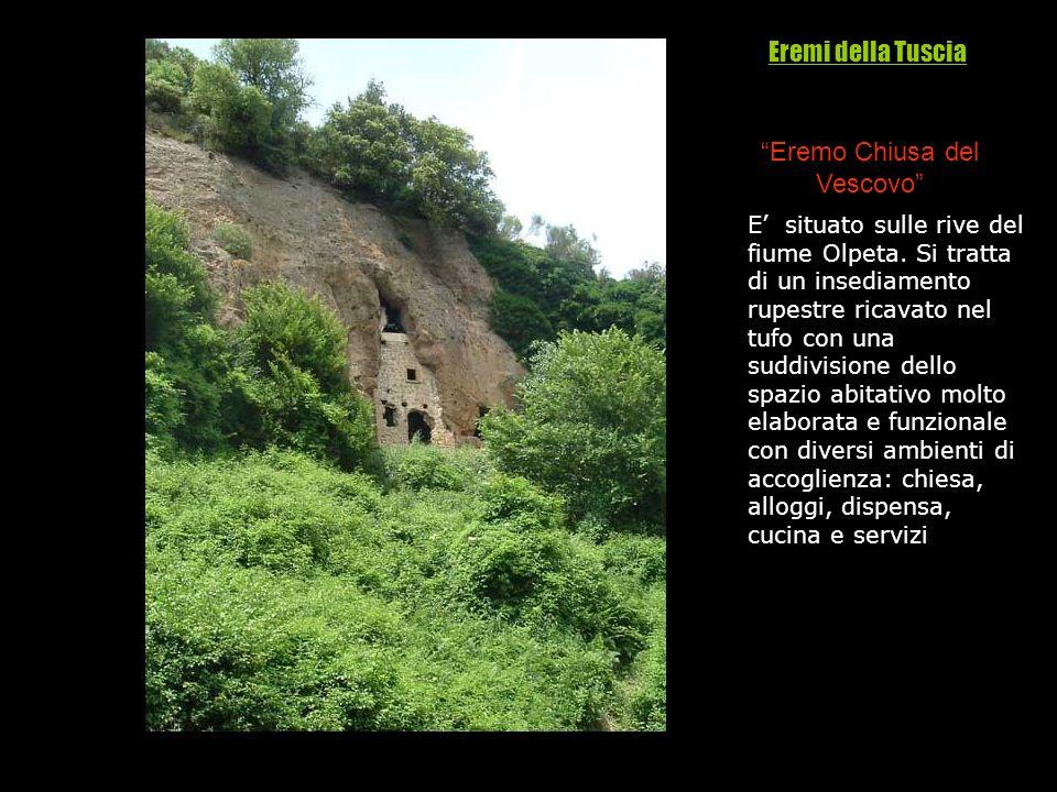 E situato sulle rive del fiume Olpeta. Si tratta di un insediamento rupestre ricavato nel tufo con una suddivisione dello spazio abitativo molto elabo